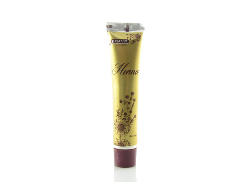 Henna - tetovací pasta přírodní hnědá - Hemani 33g