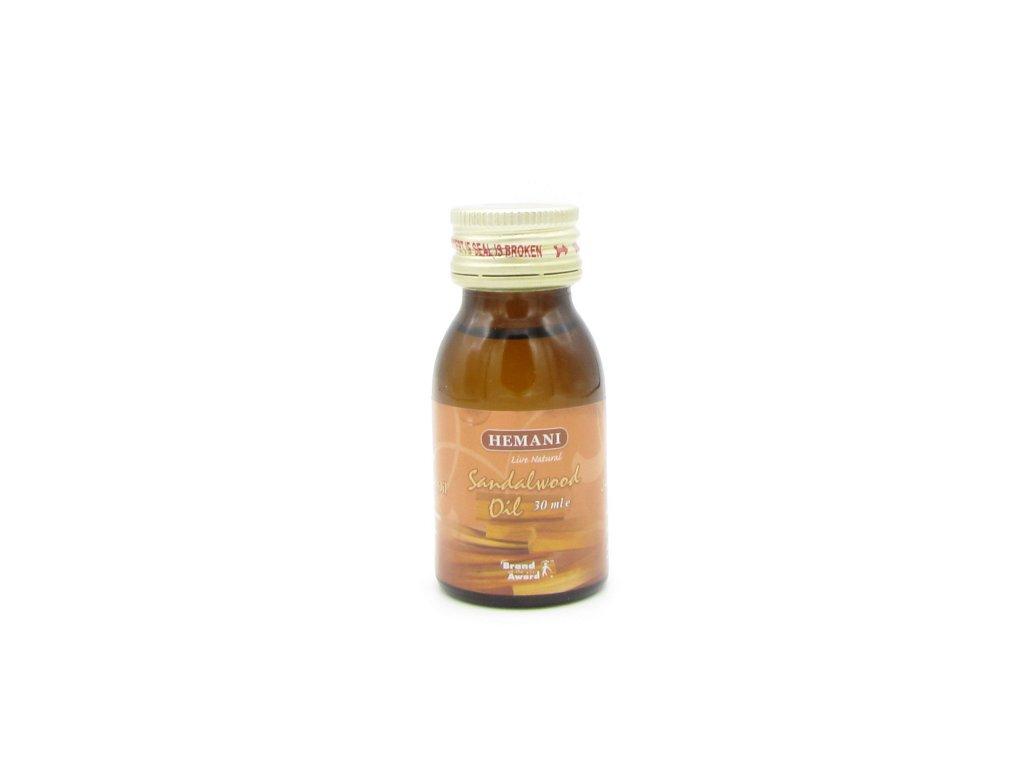 Santalový olej - Hemani 30ml