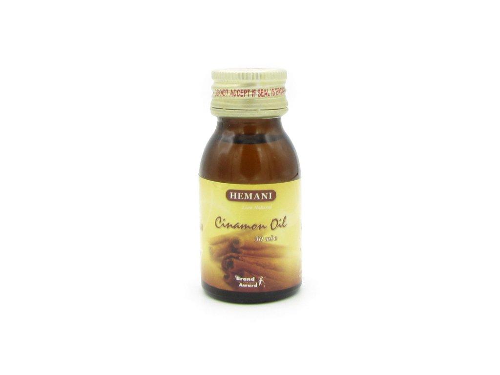 Skořicový olej - Hemani 30ml