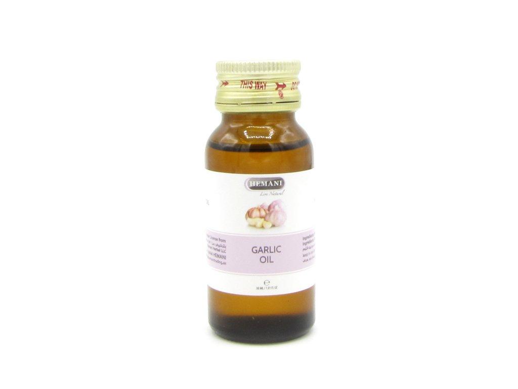 Česnekový olej - Hemani 30ml
