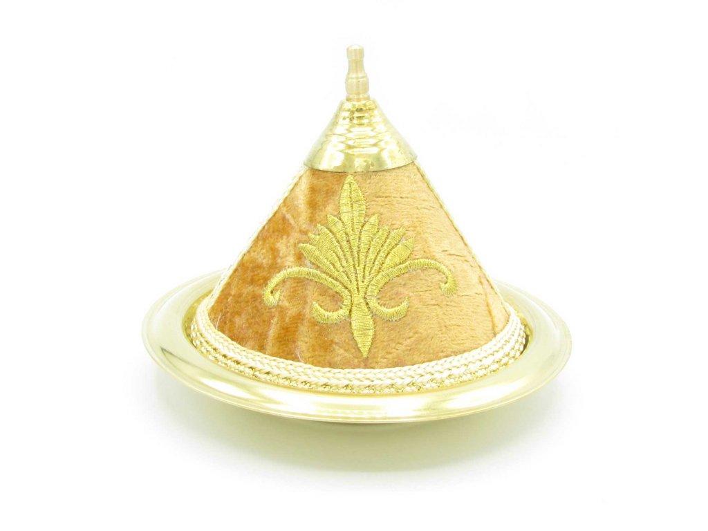 Marocký tajine Royal - dekorace - béžový