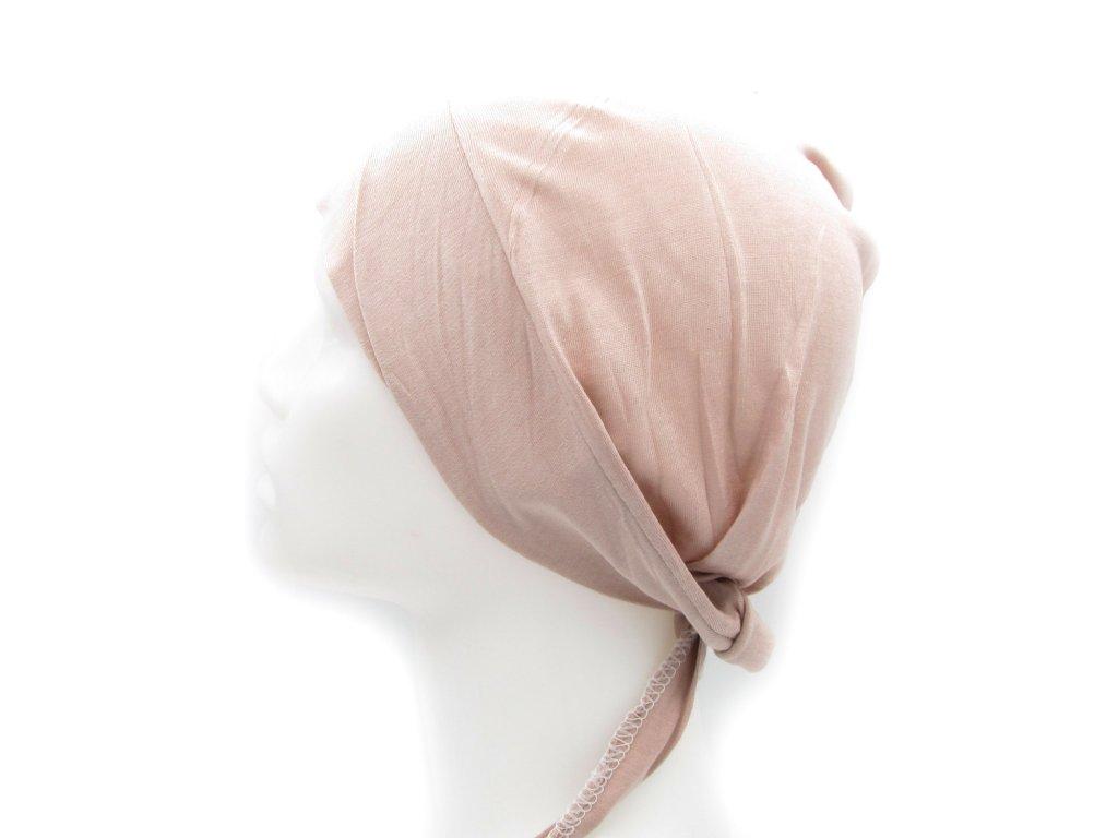 Podšátek pod hijab - starorůžový