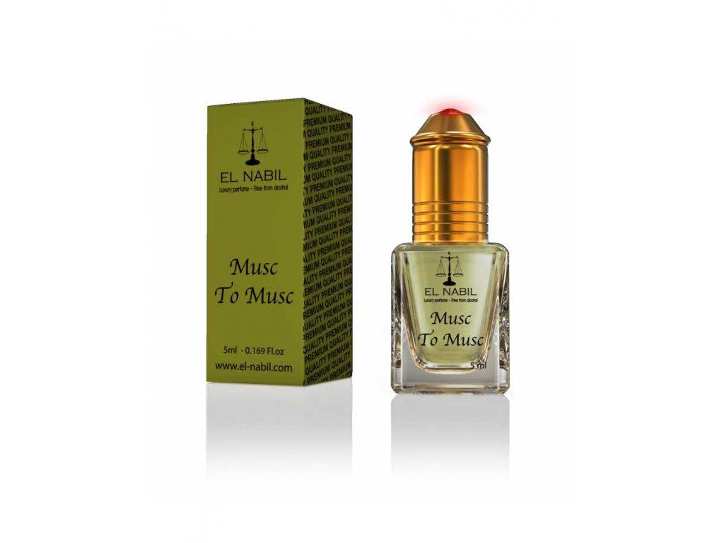 Orientální arabský parfém - Musc to Musc - El Nabil 5ml