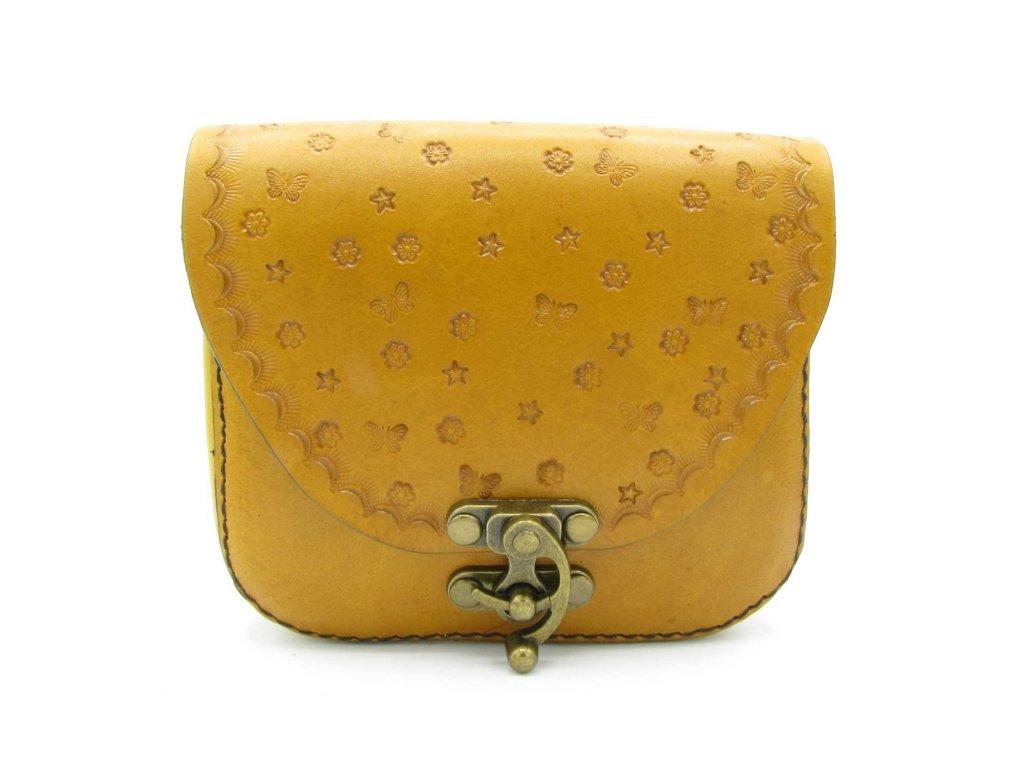 Vintage kabelka Eloise - hořčicová