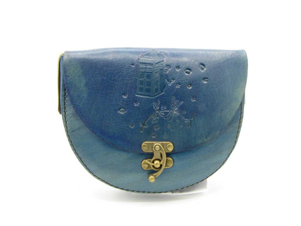 Vintage kabelka Evelyn - modrá