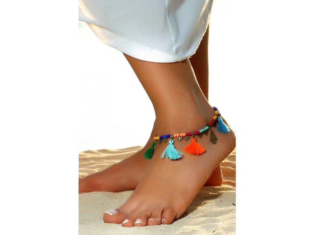 Řetízek na nohu - Melek