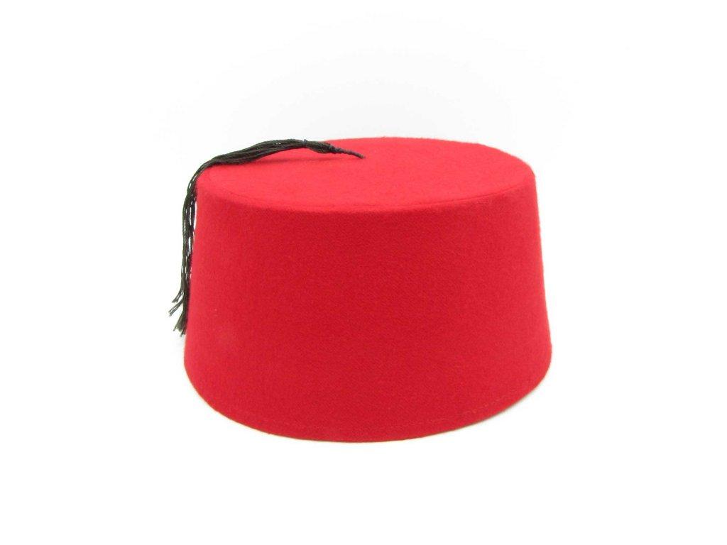 Fes - turecká čepice - červená - tradiční