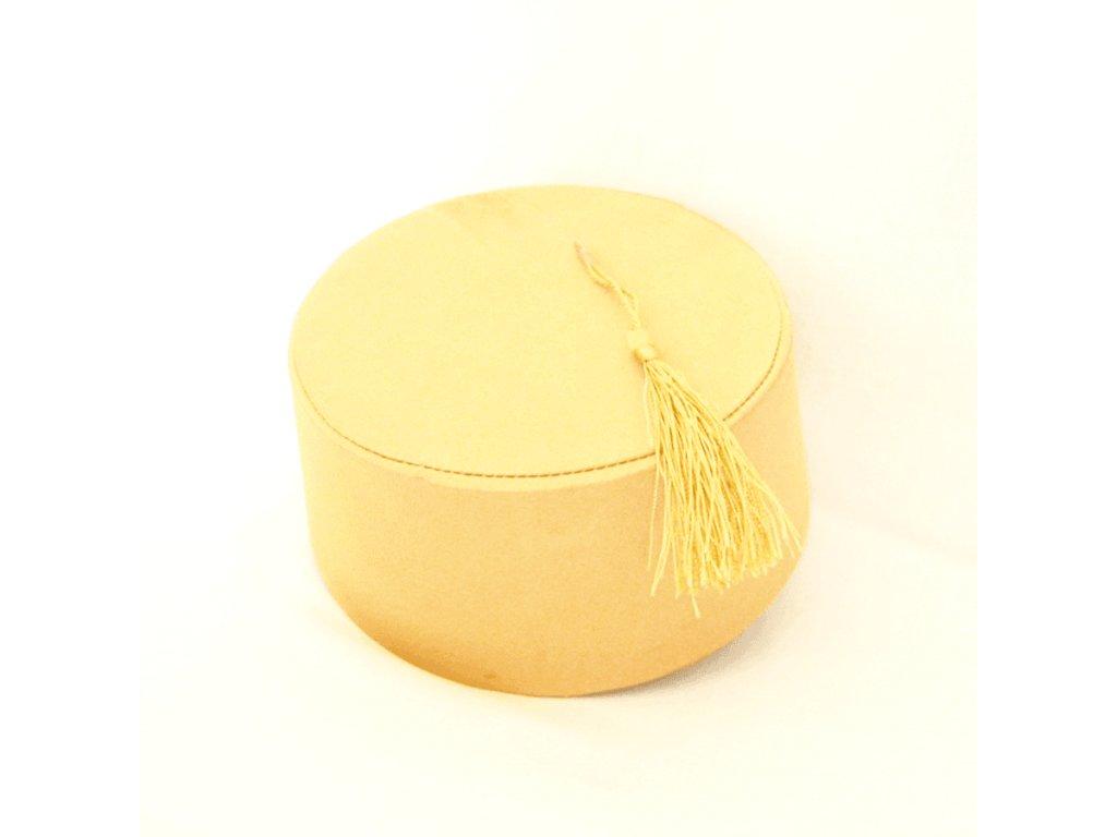 Fes - turecká čepice - zlatá