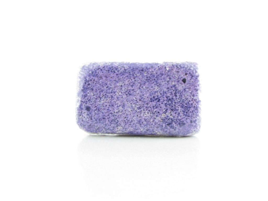 Pemza - přírodní - mořská - fialová