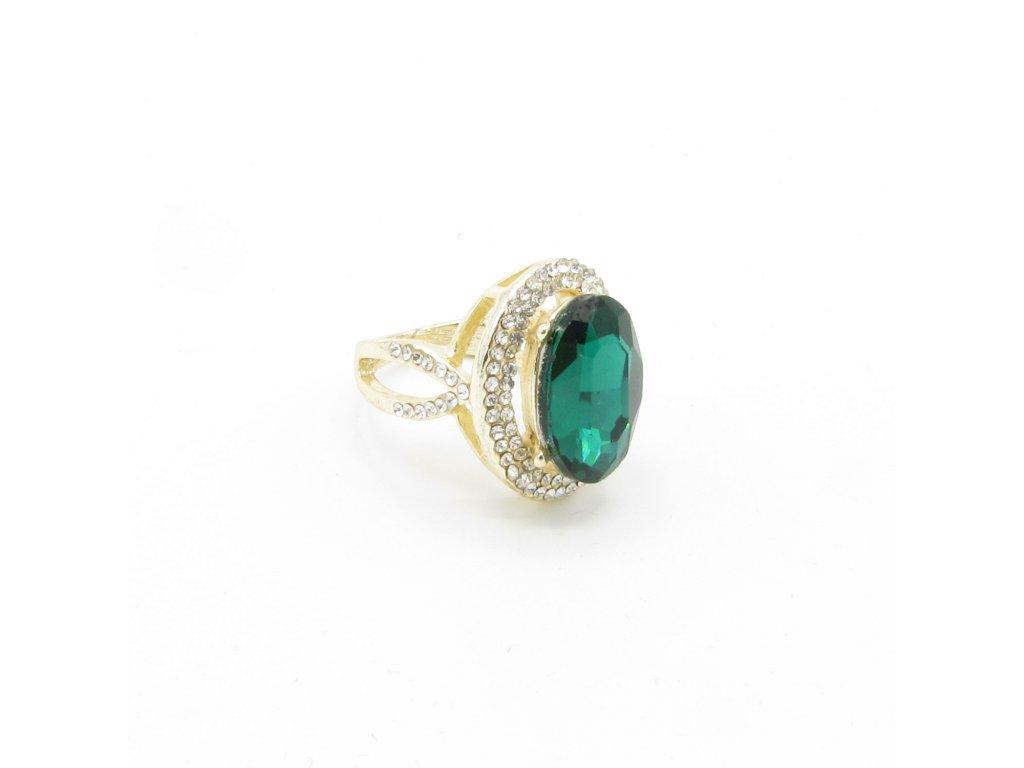 Prsten - Kadin - zelený