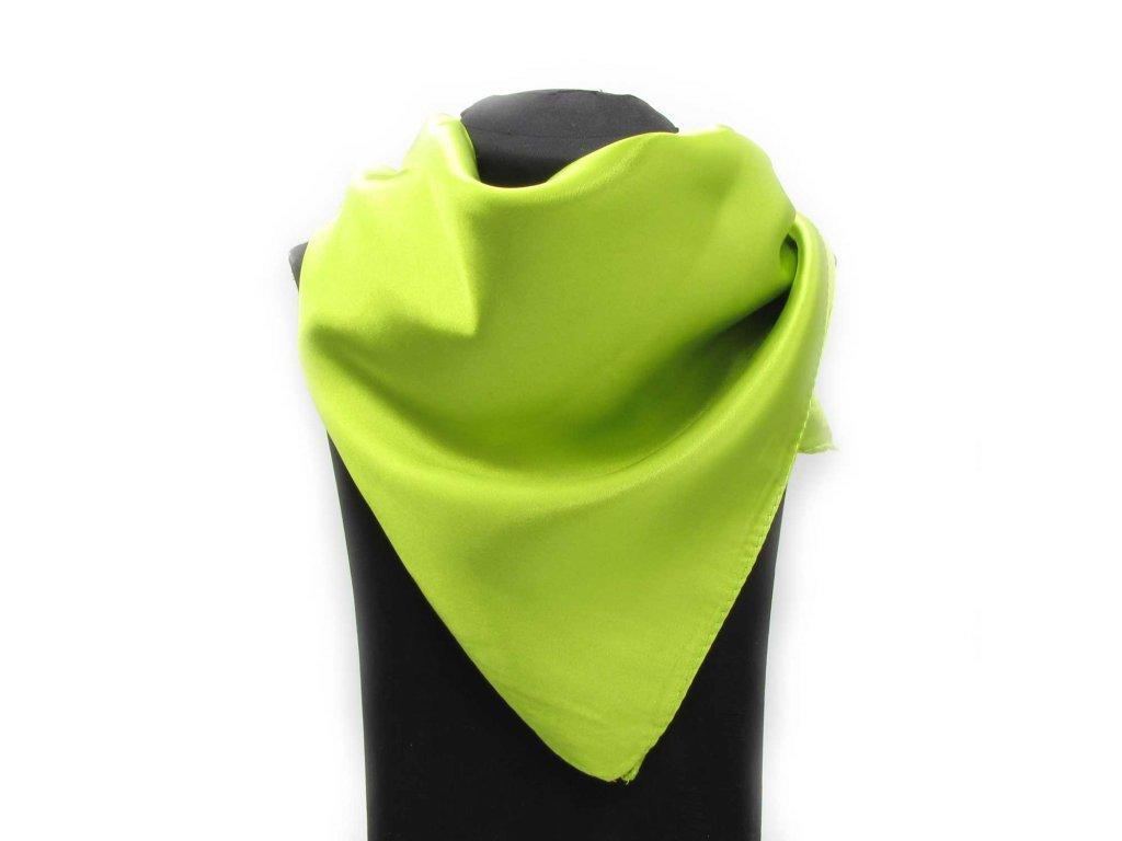 Šátek Hijab - Lime