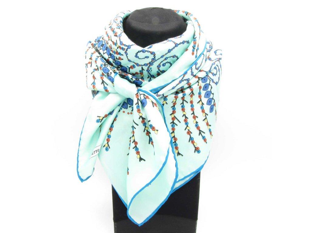 Šátek Hijab - Lauren - světle tyrkysový