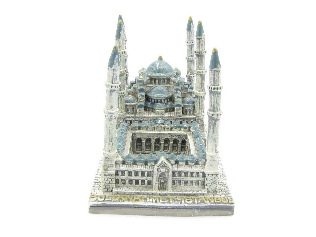 Modrá mešita - Model