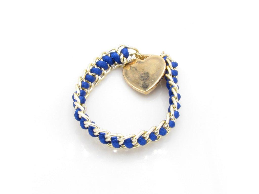 Náramek - Dilan - modrý