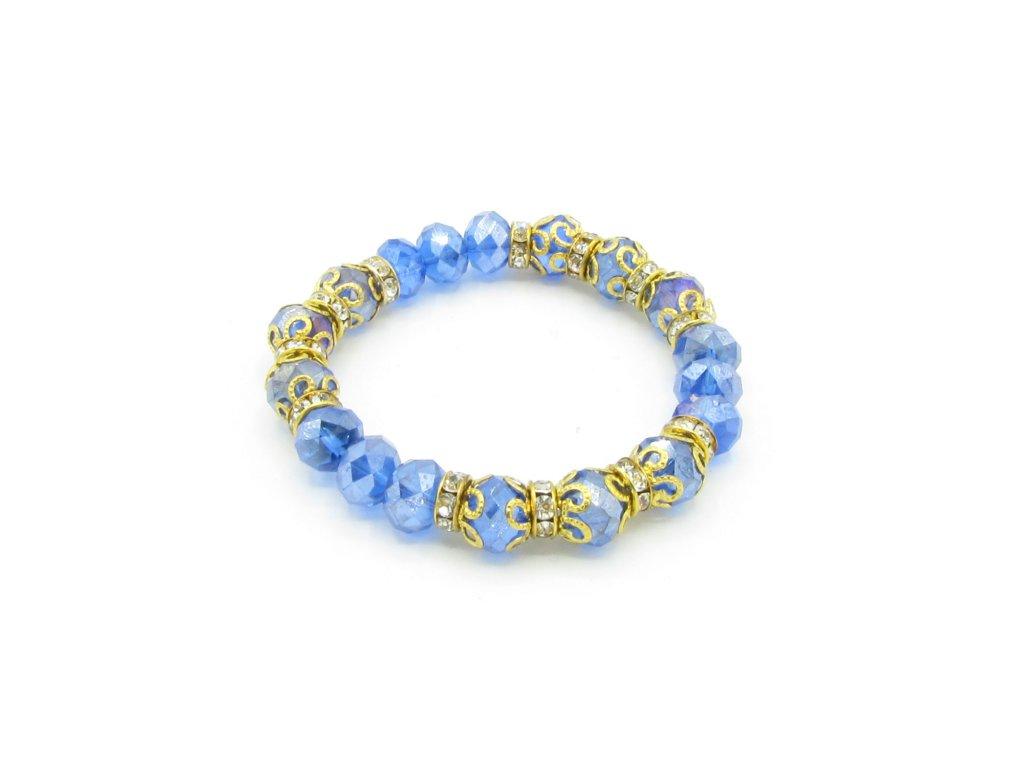 Náramek - Parlak - modrý