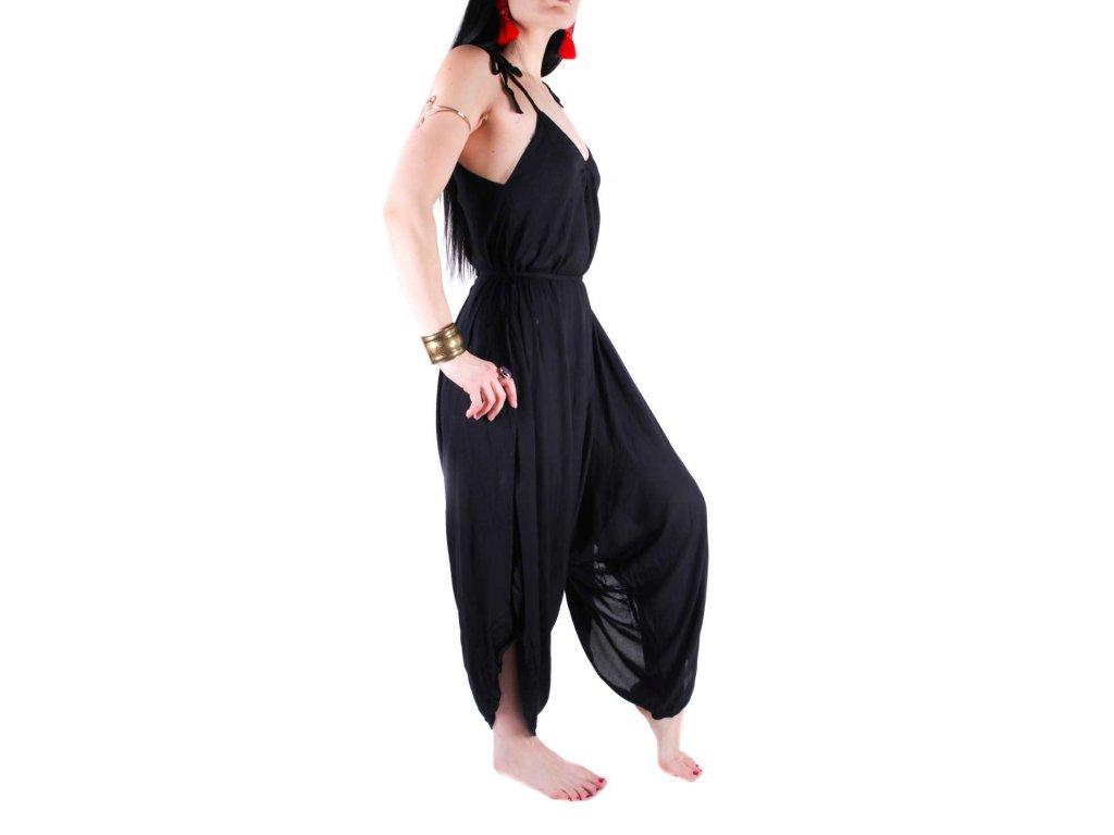 65ca29f9ba8 Turecké kalhoty - Overal - Siyah - Smilargan