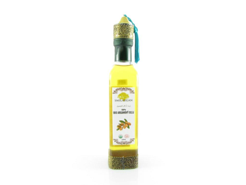 Smilargan BIO Arganový olej kosmetický 250ml - orientální lahvička