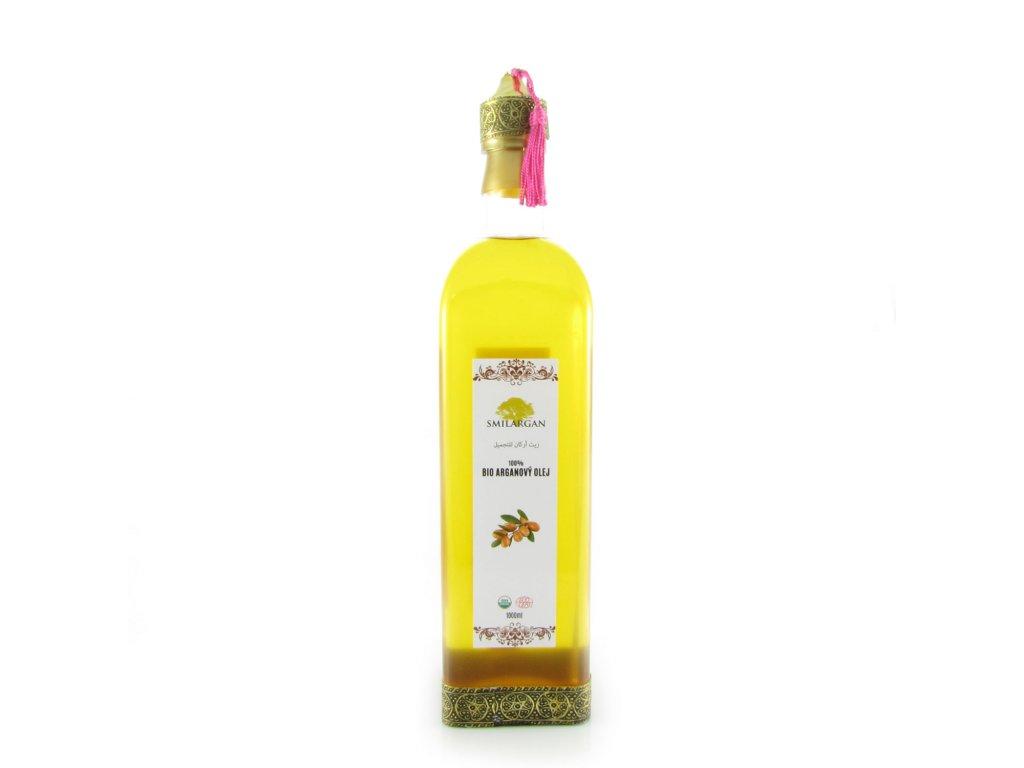 BIO Arganový olej kosmetický 1000ml - orientální lahvička