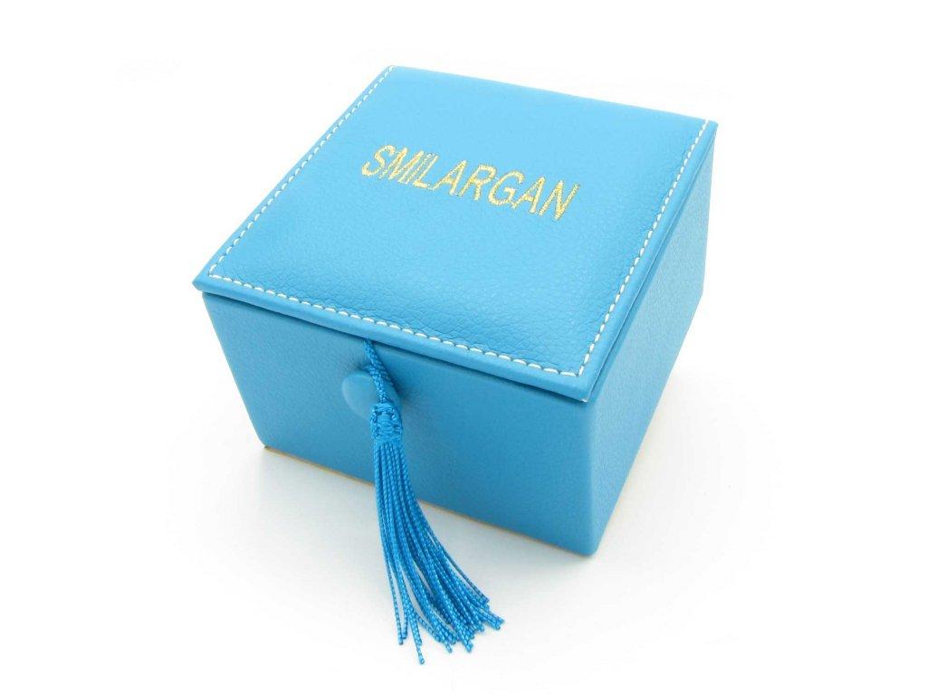 Krabička - šperkovnice Smilargan - tyrkysová