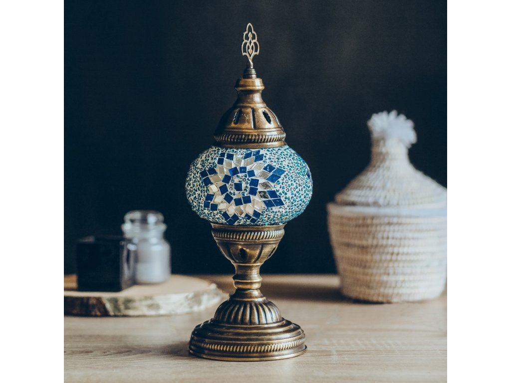 lampa stolni turkuaz 01