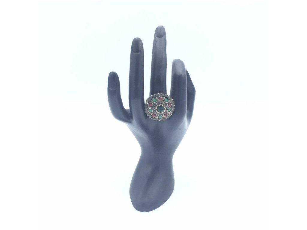 prsten firuze zeleny 01