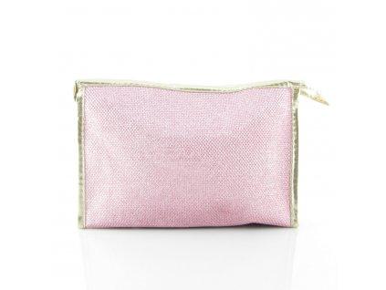 Kosmetická taška - růžová