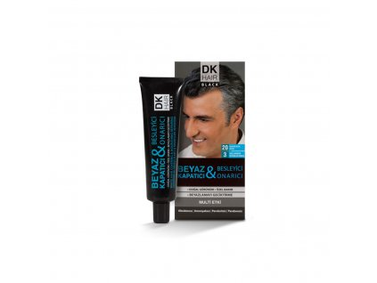Barvící pasta proti šedivění vlasů s jílem - Dermokil 60ml