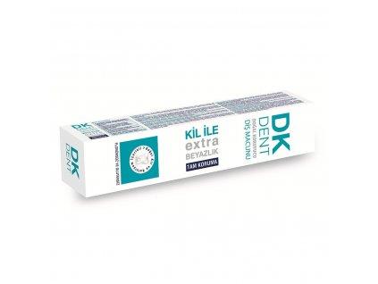 Bělící zubní pasta s jílem - DK Dent 50ml