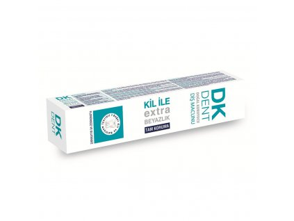 Bělící zubní pasta s jílem - DK Dent 75ml