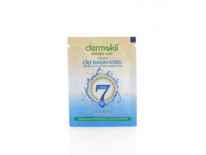 Denní pleťová pečující kúra s jílem - 7 efektů - Dermokil 3ml - TESTER