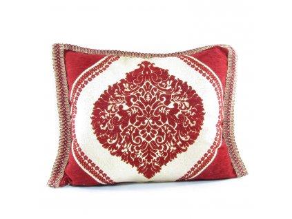 Orientální marocký povlak na polštář Marrakesh - červený