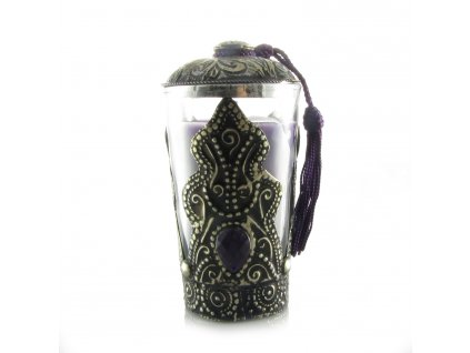 Orientální svíčka Aisha - fialová