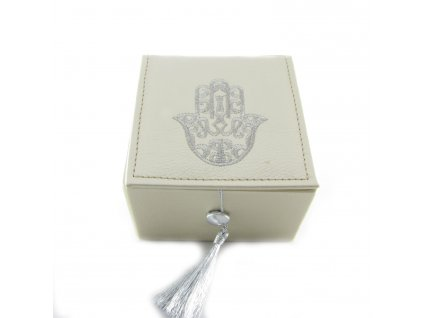 Krabička s rukou Fatimy - béžová