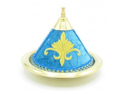 Marocký tajine Alya - dekorace - modrý