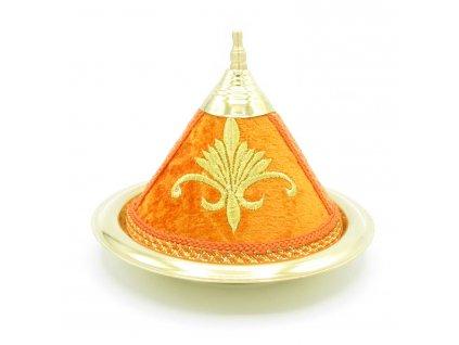 Marocký tajine Orangia - dekorace - oranžový