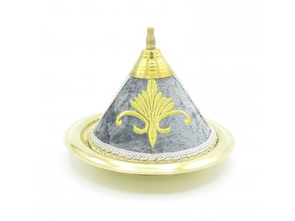 Marocký tajine Bulut - dekorace - šedý