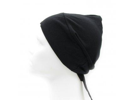 Podšátek pod hijab - černý