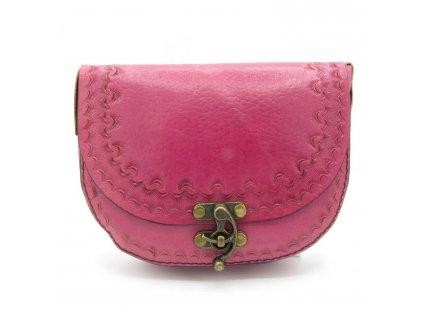 Vintage kabelka Margaret - růžová
