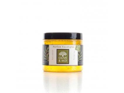 Mýdlo s olivovým olejem a eukalyptem na hammam - Saryane 200g
