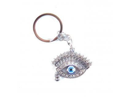 Klíčenka - Alláhovo oko - stříbrná