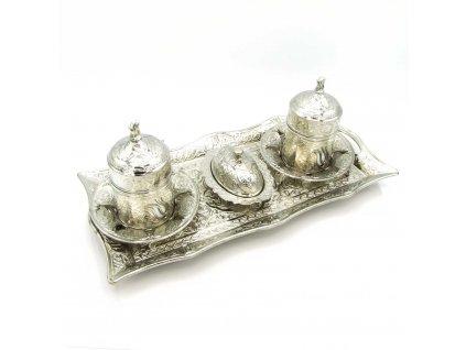 Tradiční turecký set na kávu Zarivar