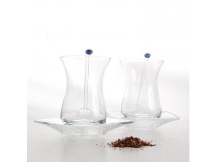 Tradiční turecký set na čaj