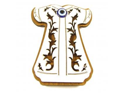 Magnet - Kaftan se symbolem Alláhova oka