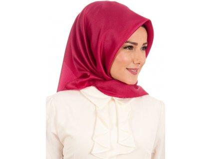 Šátek Hijab - Koyu Pembe