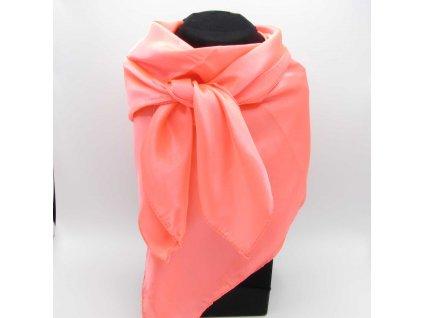 Šeherezád Šátek Hijab - Turuncu-Pembe