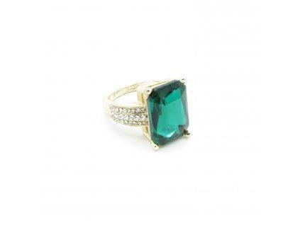 Prsten - Nisan - zelený