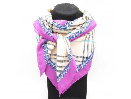 Šátek Hijab - Lauren - růžový