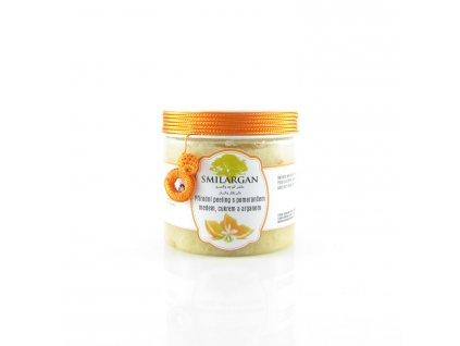 Smilargan Přírodní peeling s arganem, medem, pomerančem a cukrem 200g