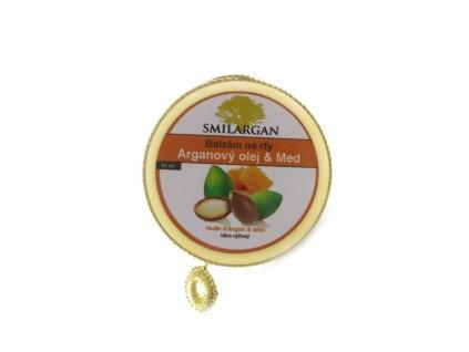 Balzám na rty s arganovým olejem a medem 15ml
