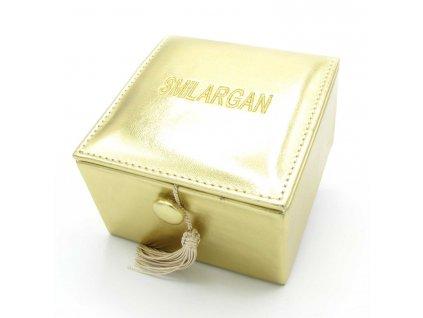 Krabička - šperkovnice Smilargan - zlatá